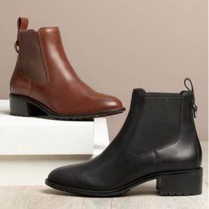 26860f808ea Waterproof Cole Haan Chelsea Boots In Brown Sz 6